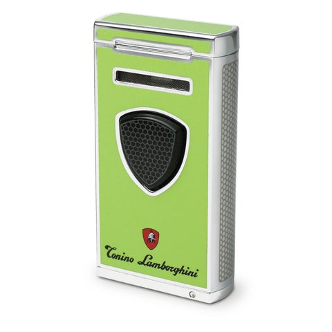Tonino Lamborghini Pergusa Green Torch Flame Lighter (Ships Degassed)