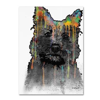 Marlene Watson 'Cairn Terrier' Gallery Wrapped Canvas Art