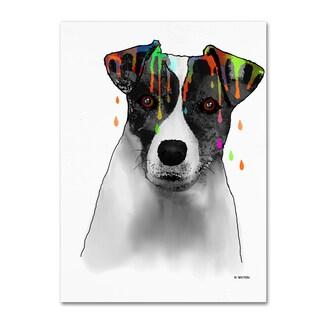 Marlene Watson 'Jack Russel Terrier' Gallery Wrapped Canvas Art