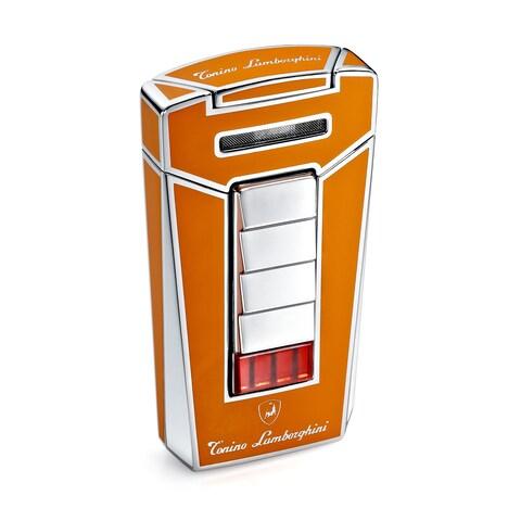 Tonino Lamborghini Aero Orange Torch Flame Cigar Lighter (Ships Degassed)