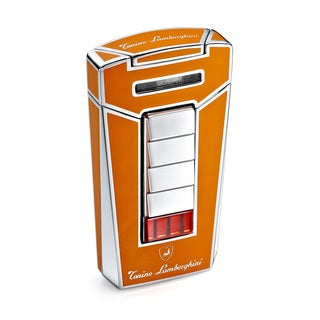 Tonino Lamborghini Aero Orange Torch Flame Cigar Lighter (Ships Degassed)