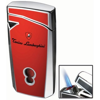Tonino Lamborghini Magione Red Torch Flame Cigar Lighter (Ships Degassed)