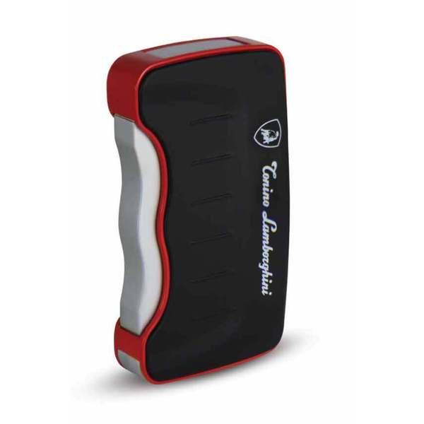 Tonino Lamborghini Eridanus Lighter - Black with Red Rim (Ships Degassed)