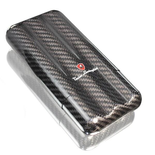 Tonino Lamborghini 3 Finger Carbon Fiber Cigar Case