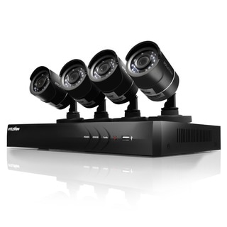 LaView 4-Channel High Definition Security Surveillance System with 1 TB Hard Drive and 4 HD Cameras