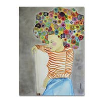 Sylvie Demers 'Marion' Gallery Wrapped Canvas Art - Multi
