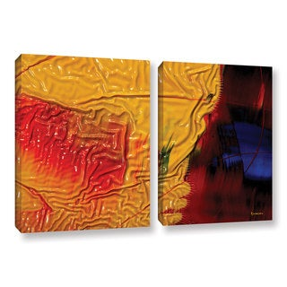 ArtWall Byron May 'The Approaching Storm' 2 Piece Gallery-wrapped Canvas Set