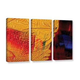 ArtWall Byron May 'The Approaching Storm' 3 Piece Gallery-wrapped Canvas Set