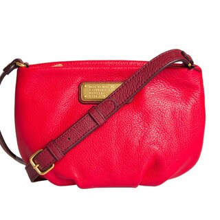 Marc By Marc Jacobs New Q Percy Rosey Red Multi Crossbody Handbag