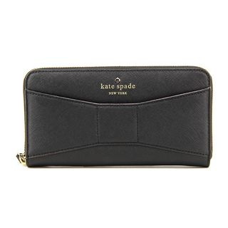 Kate Spade 2 Park Avenue Saffiano Leather Lacey Black Wallet