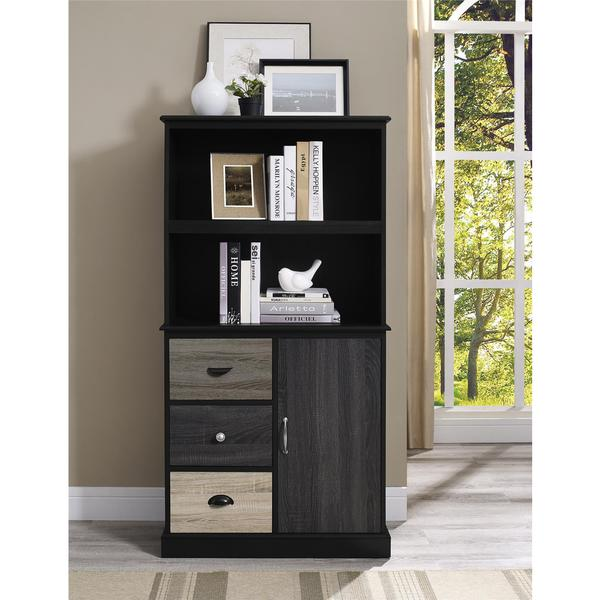 Ameriwood Home Blackburn Storage Bookcase Free Shipping Today