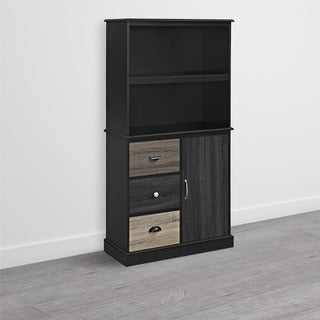 Ameriwood Home Blackburn Storage Bookcase