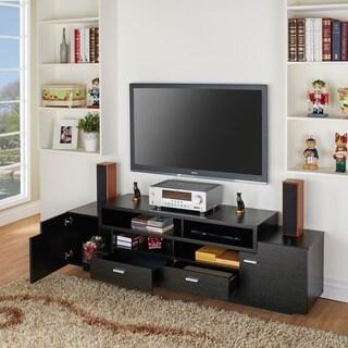 Furniture of America 72-inch Peyson Modern Tiered TV Stand