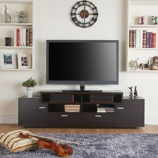 Clay Alder Home Verrazano 72 Inch Modern Tiered TV Stand