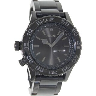Nixon Women's 42-20 A0351150 Black Stainless Steel Quartz Watch