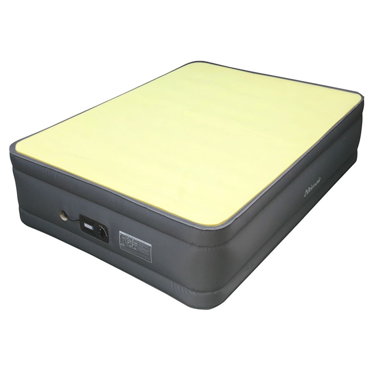 Altimair Full-size Air Mattress with Memory Foam Mattress...