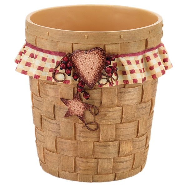 Avanti Hearts and Stars Wastebasket