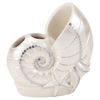 Avanti Sequin Shells Toothbrush Holder