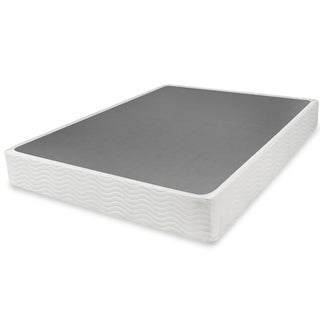 Priage 9-inch Queen-size Easy-to-Assemble Box Spring Mattress Foundation