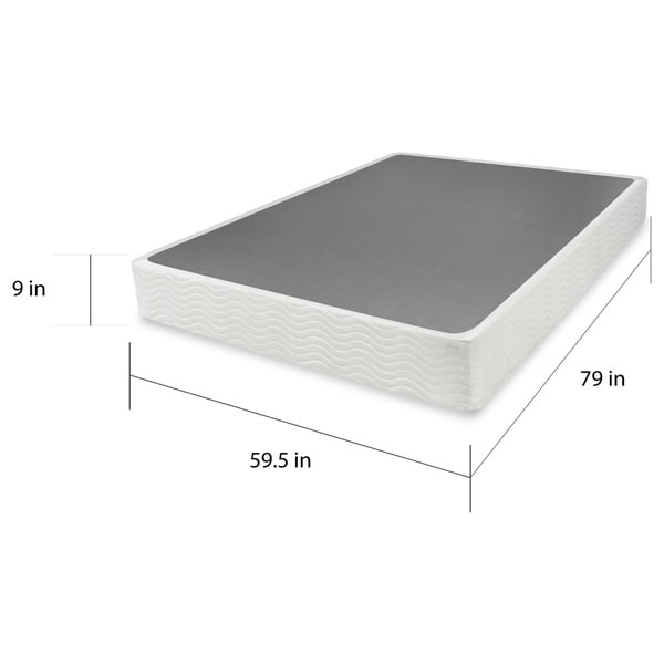 priage 9inch box spring mattress foundation free shipping today