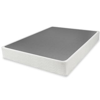 Priage 9-inch Twin-size Easy-to-Assemble Box Spring Mattress Foundation