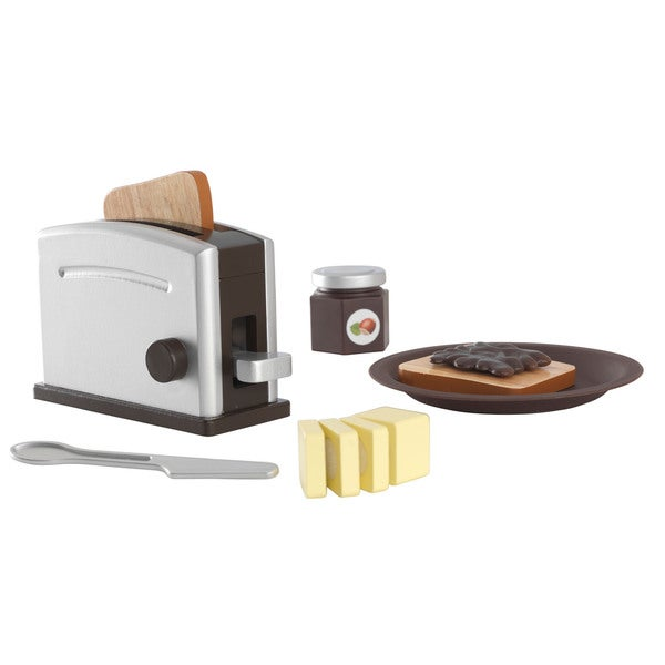KidKraft Wooden Toaster Set