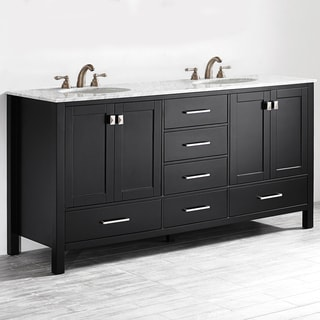 Link to Vinnova Gela 72-inch Espresso Double Vanity Similar Items in Bathroom Vanities