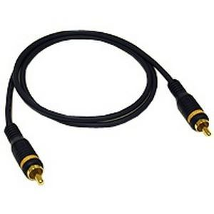 6FT COMPOSITE VIDEO CABLE CABLRCA/RCA M/M VELOCITY