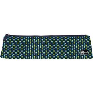 Creative Options Needle Case W/Zipper 14.5inX2.5inX3.25in Navy & Blue