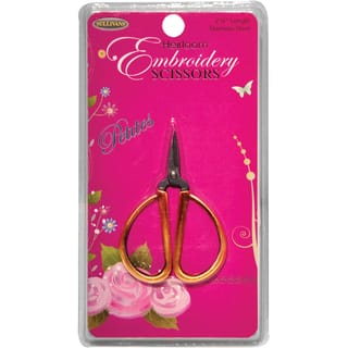 Petites Embroidery Scissors 2.25in Gold|https://ak1.ostkcdn.com/images/products/10298750/P17412585.jpg?impolicy=medium