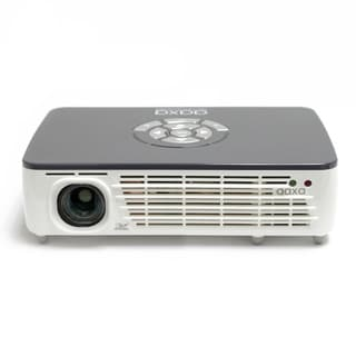 AAXA P450 Pico/Micro DLP Projector, with WXGA Resolution, 450 lm, 15,000 hr LED Life, HDMI, Mini-VGA, and Media Player