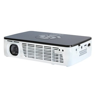 AAXA P300 Pico/Micro LED Projector, with WXGA Resolution, 400 lm, 60 min Battery, 15,000 hr LED Life, HDMI, and Media Player