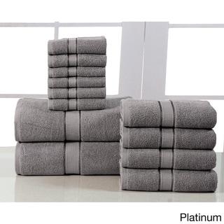Elegance Spa Egyptian Cotton 600 GSM 12-piece Towel Set