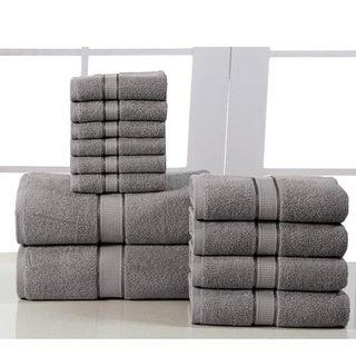 Elegance Spa Cotton 600 GSM 12-piece Towel Set (More options available)