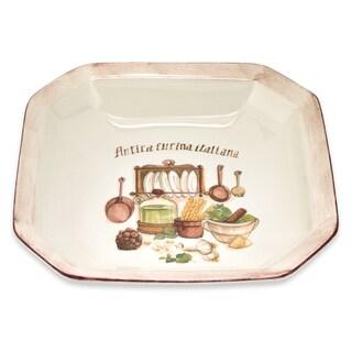 Italian Cucina 13-inch Octagonal Bowl
