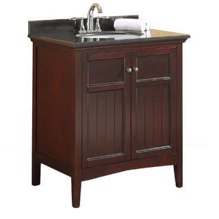 Ove Decors Gavin 30-inch Dark Tobacco Finish Vanity