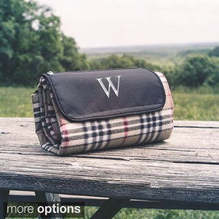 Personalized Tartan Plaid Tailgate Picnic Blanket (More options available)