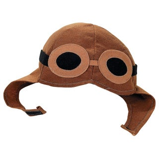 Adult Felt Aviator Pilot Hat Costume Accessory