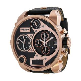 Diesel Men's DZ7261 Daddies Series Analog Display Quartz Black Watch|https://ak1.ostkcdn.com/images/products/10299079/P17412783.jpg?impolicy=medium