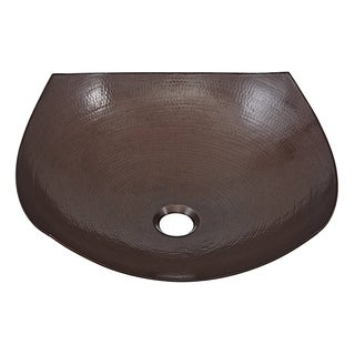 "Link to Sinkology Lovelace 16.5"" Above Counter Vessel Copper Sink - 16.5"" x 16.5"" x 5.5"" Similar Items in Sinks"
