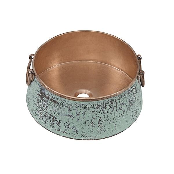 """Sinkology Nobel 16"""" Vessel Copper Bath Sink. Opens flyout."""