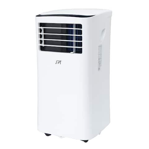 SPT 8,000 BTU 3-in-1 Portable Air Conditioner and Dehumidifier - White