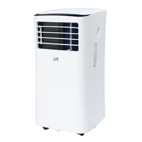 SPT 8,000 BTU 3-in-1 Portable Air Conditioner and Dehumidifier - White