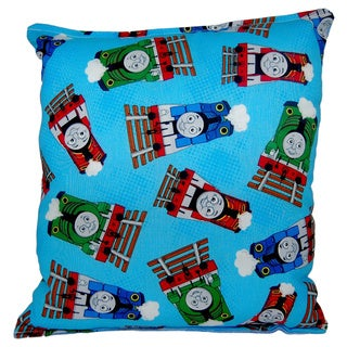 Thomas the Tank Engine Reversible 11-inch x 10-inch Throw Pillow
