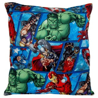 Marvel Avengers Reversible 11 x 10-inch Throw Pillow