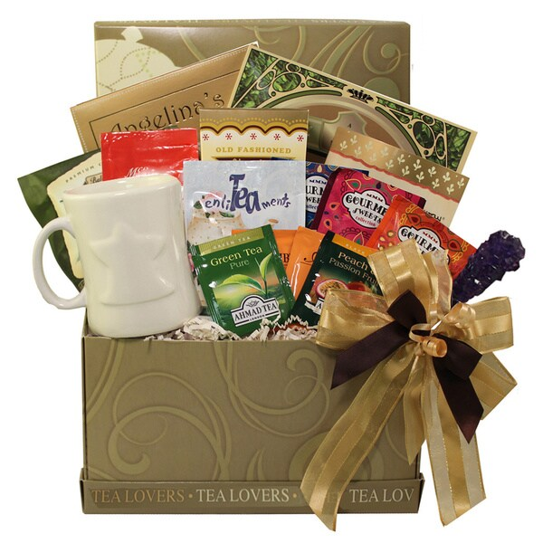 Shop Tea Lovers Care Package Snacks And Treats Gift Box