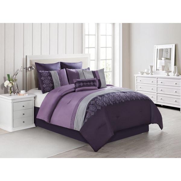 VCNY Clermont 8-piece Comforter Set