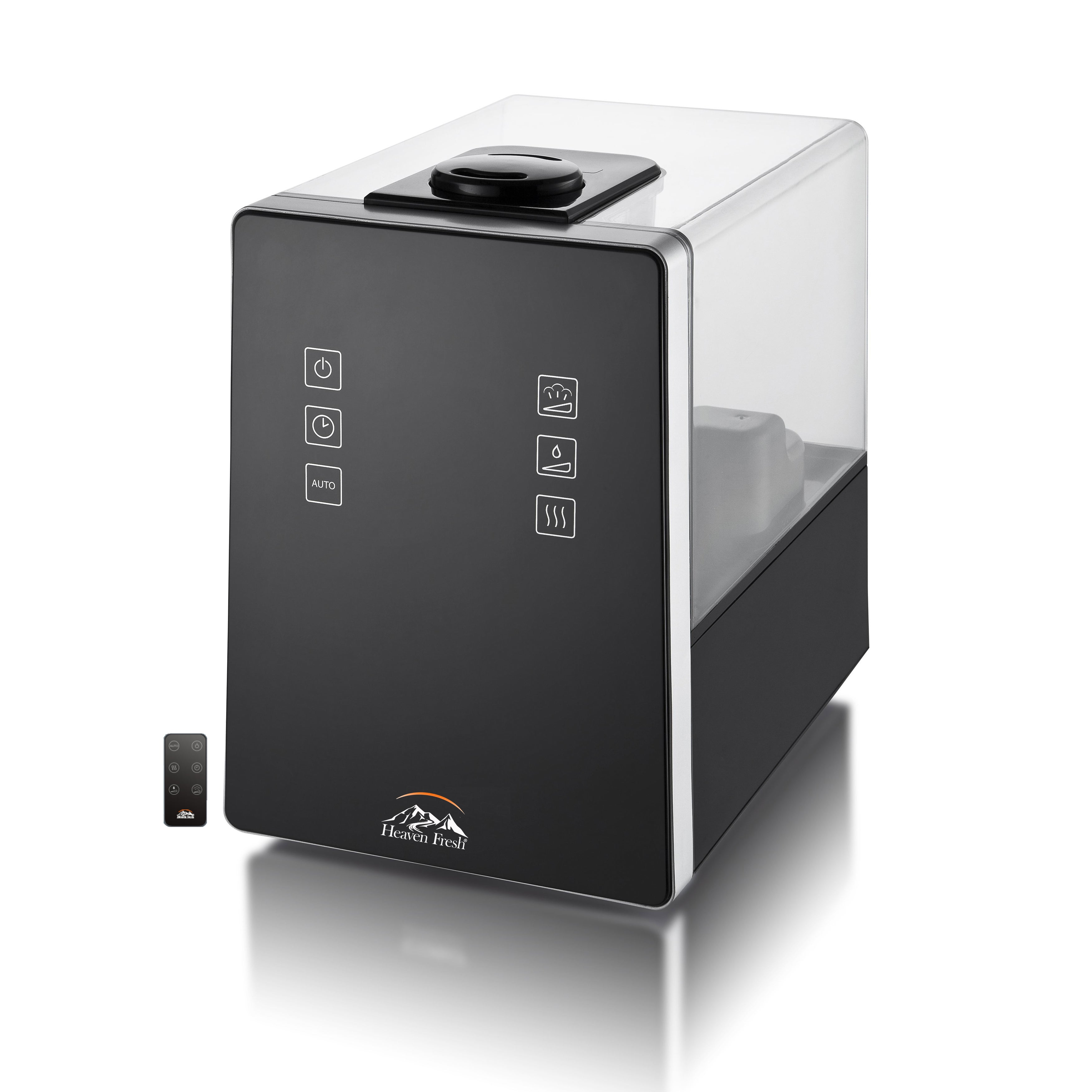 Heaven Fresh HF 710-Black Digital Ultrasonic Cool & Warm Mist