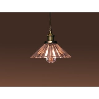 Shelby 1-light Glass Adjustable Height 10-inch Edison Pendant with Bulb