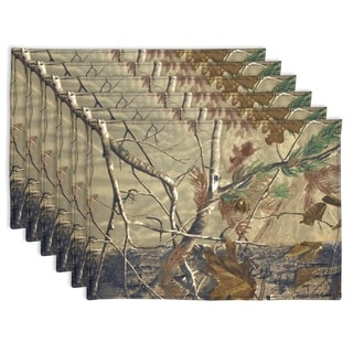 Realtree Cotton Reversible Placemat (Set of 6)